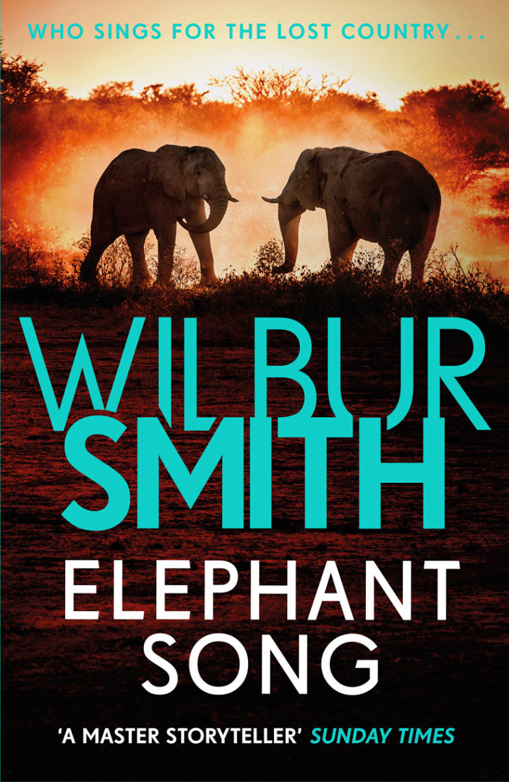 Elephant Song Book Cover