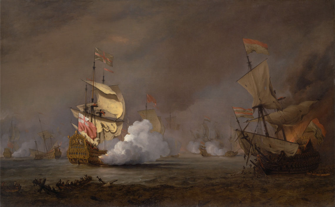 Battle royale of the buccaneers