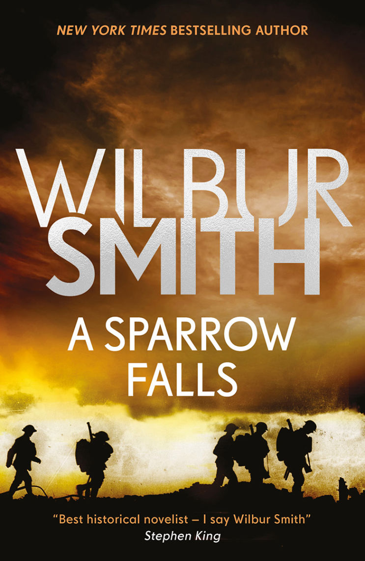 A Sparrow Falls Book Cover