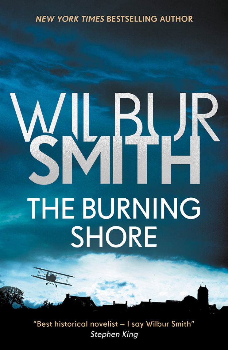 The Burning Shore Book Cover